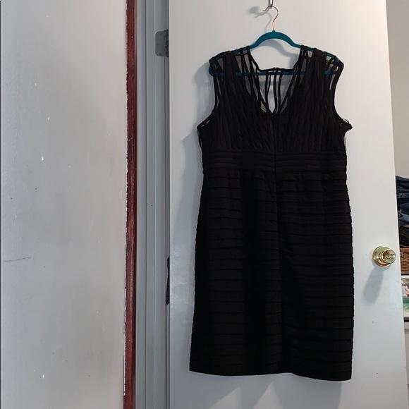 Addition-Elle Black Cocktail Dress
